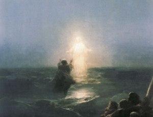 Иисус идет по воде